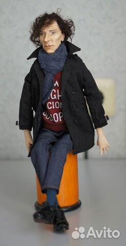 Авторская кукла Шерлок(Бенедикт Камбербэтч) 89236371813 купить 3