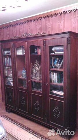 набор мебели из дерева для гостиной