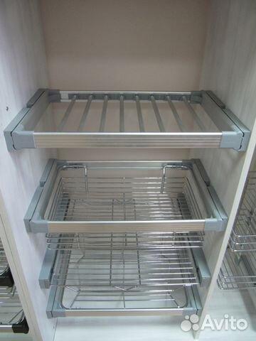 Выдвижные системы хранения для шкафов купить 4