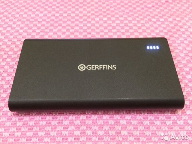 Внешний аккумулятор Gerffins 10000 мАч