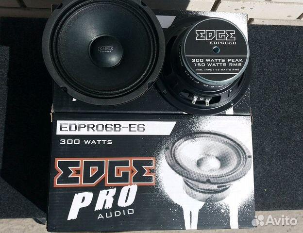 Новые мощные динамики Edge PRO 16см
