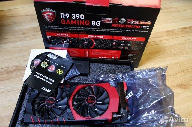 MSI R9 390 gaming 8G, 512 бит купить в Костромской области