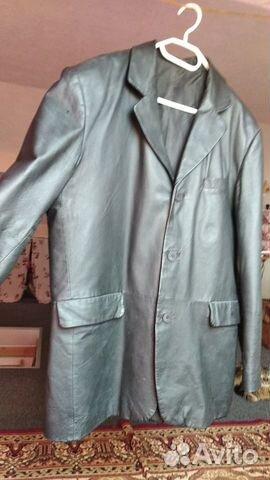 Пиджак кожаный  89024174627 купить 1