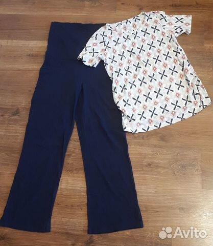 Штаны и футболка для беременных