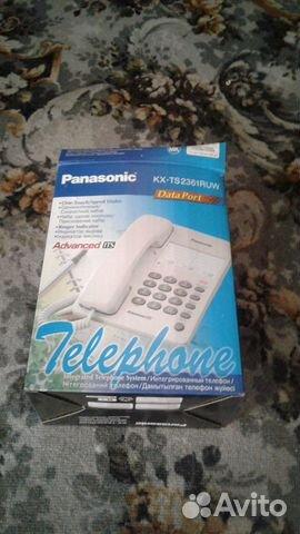 Panasonic телефон стационарный  89204223227 купить 2