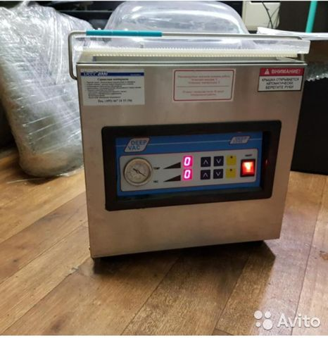 Пищевой вакуумный упаковщик deep 2240