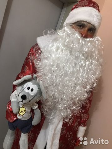 A costume of father Frost and snow Maiden  buy 4