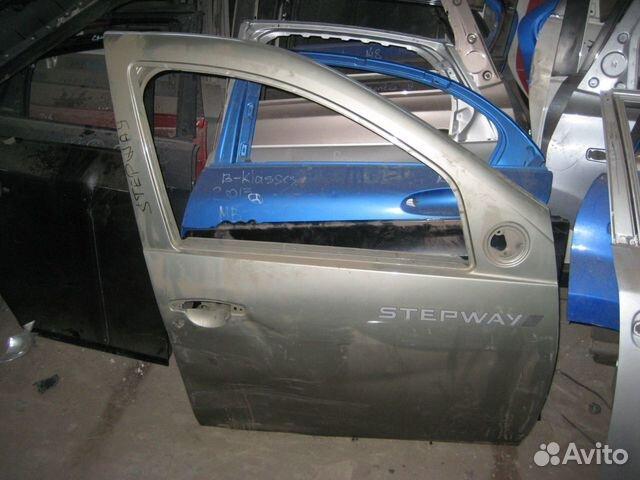 Дверь передняя правая Renault Sandero Stepway  Рено Сандеро Степвей ориг. номер 801006719R