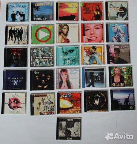Диски с музыкой иностранных исполнителей 89910930410 купить 1