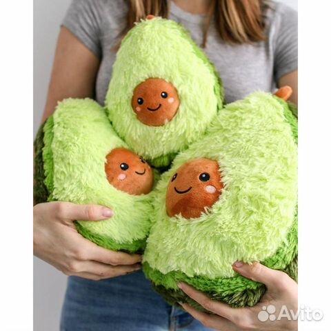 Plush toy Avocado
