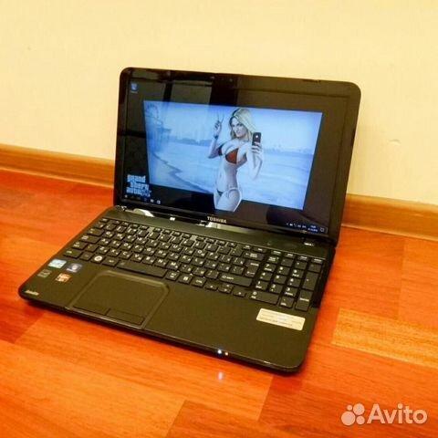 Игровой ноутбук Тошиба с мощной начинкой, на i5