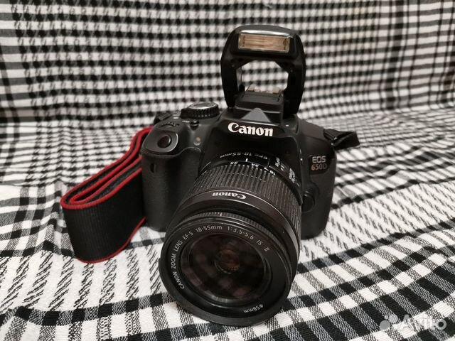Зеркальный фотоаппарат Canon EOS 650d kit 18-55 89206166645 купить 6