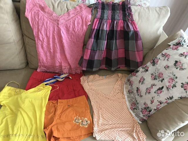 Летний гардероб:топ, футболка,юбка,шорты