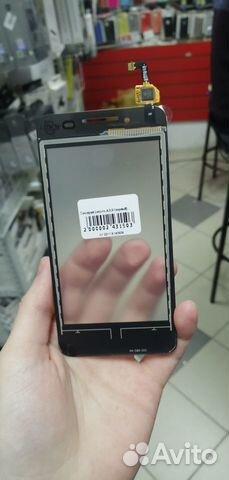 89003081353 Стекло сенсора Lenovo A319 (черный)
