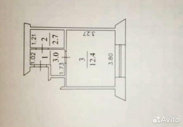 Студия, 18 м², 3/5 эт. 89235230266 купить 7