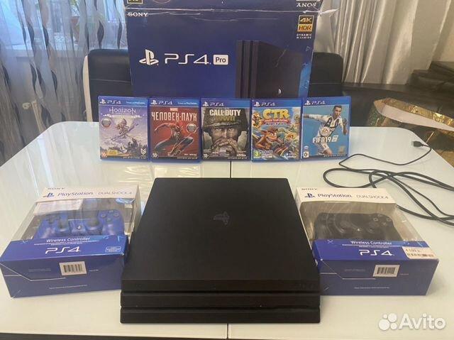 Sony PS4 PRO 1Tb купить 1