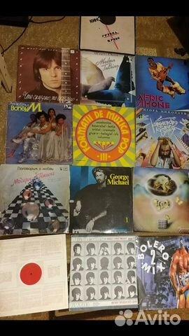 Большая Коллекция виниловых пластинок (более 1000) 89107618872 купить 3