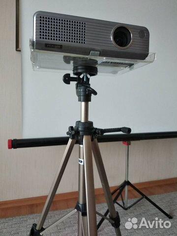Проектор Panasonic PT-P1SDE+Экран 160х160напольный  89193505651 купить 4