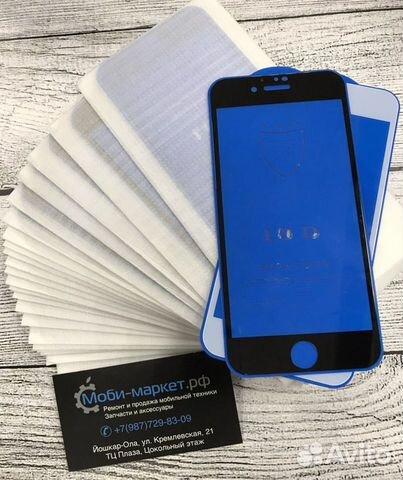 Защитное стекло с полным покрытием iPhone 6/6s  89877298309 купить 4