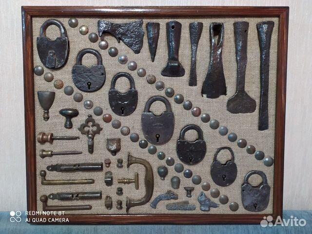 Панно из старинных предметов быта, конины  89033713097 купить 3