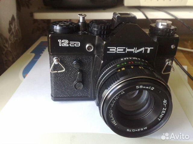 Fotoapparat Zenit 12sd Kupit V Moskve Bytovaya Elektronika Avito