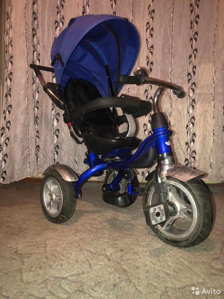 Детский трех колесный велик  89137630747 купить 1
