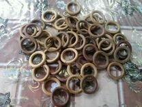 Деревянное кольцо рукоделие шитьё