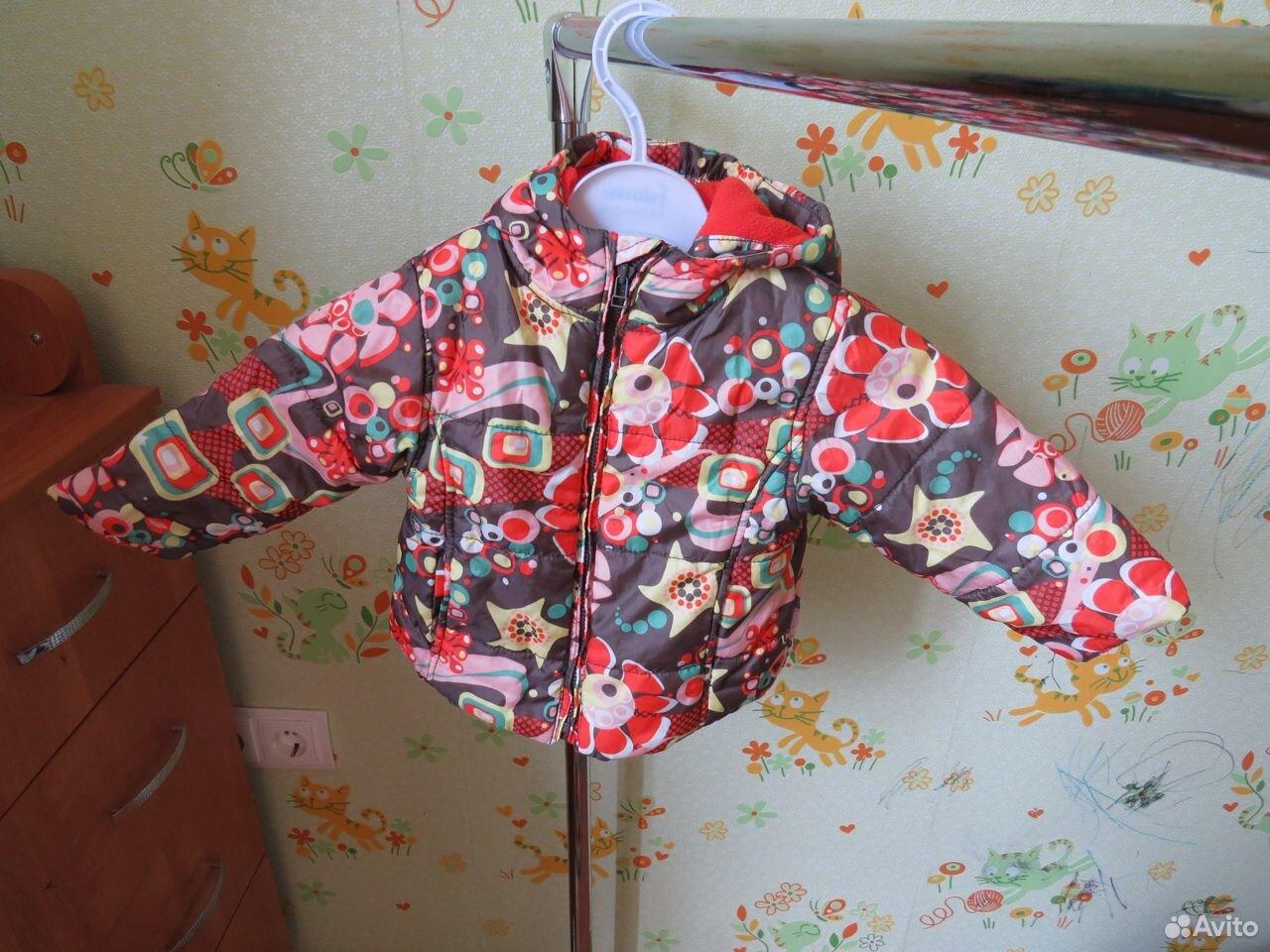 Курточка осенняя для девочки р.80