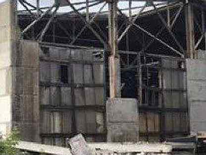 Ферма железная бу 24 метра ангар склад хранилище