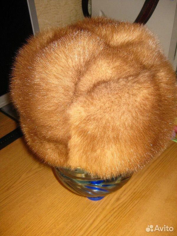 Норковая шапка-формовка, р.57-58  89137409809 купить 1