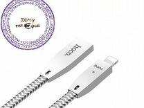 USB кабель hoco Original Zinc Alloy U11 для Apple