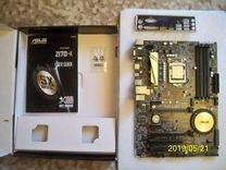 Отличный комплект. i5 7500 + Asus z 170-k