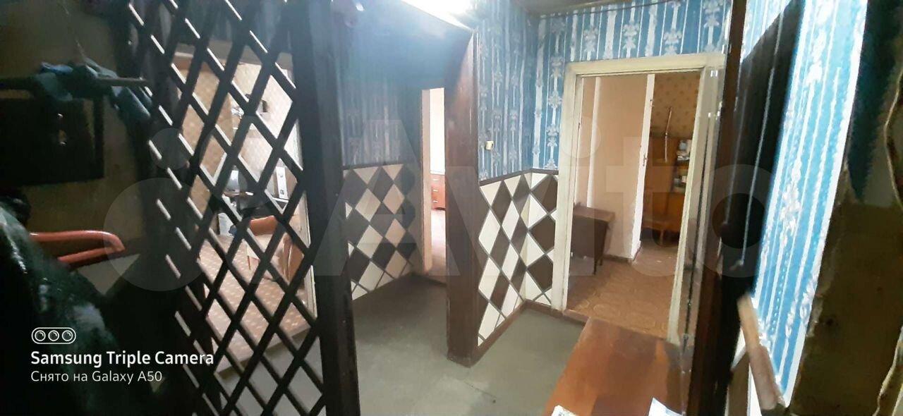 3-к квартира, 60 м², 1/2 эт.  89062935220 купить 1