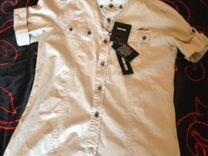 Новая Рубашка Antony Morato бежевая