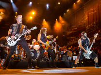 Концерт Metallica 21 июля