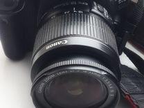 Canon 550d +объектив 18-55 kit