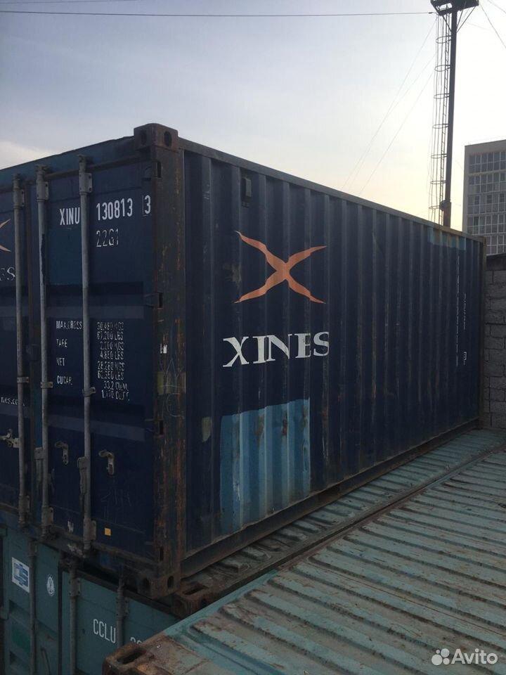 Морской контейнер 20 футов бу в Нижнем Новгороде  88002001752 купить 1