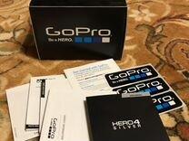 GoPro Hero 4 Silver + Аксесуары + Кейс