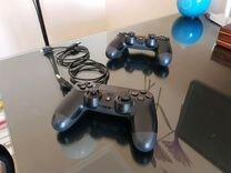 Sony Playstation 4 + 2 джойстика