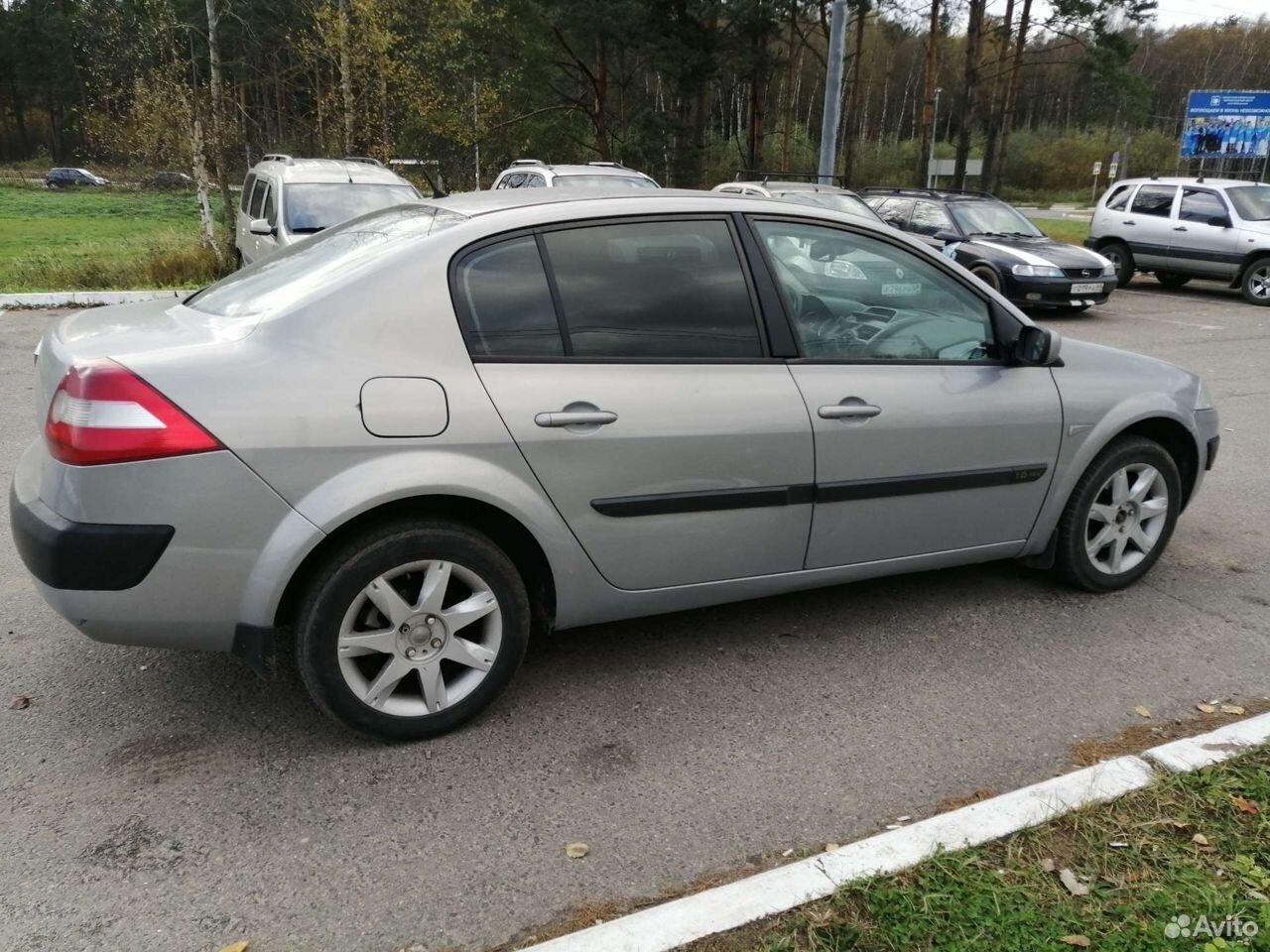Renault Megane, 2004  89092668411 купить 5