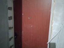 Железная дверь от застройщика