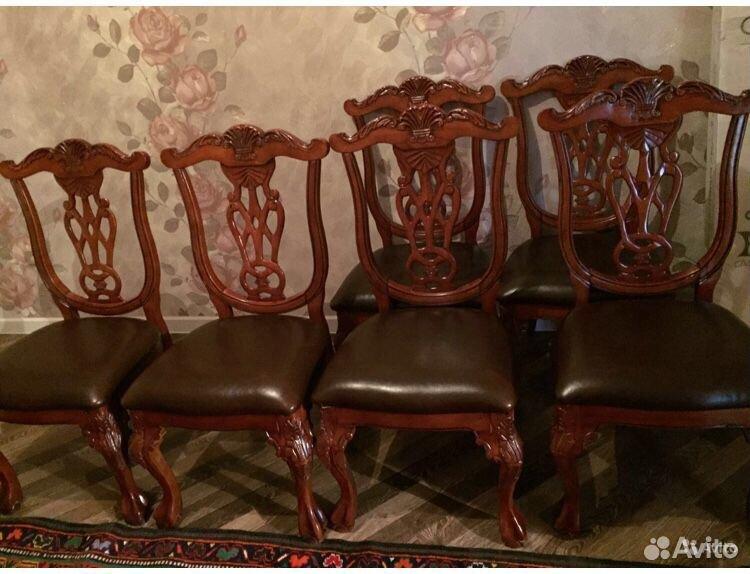 Продаю кожаные стулья  89034286613 купить 2