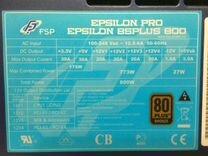 Блок питания FSP 800 ватт