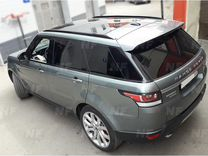 Рейлинги Range Rover Sport черные