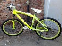 Велосипед новый салатовый
