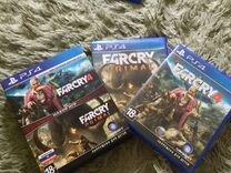 Продам FarCry Primal и FarCry4 PS4