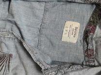 Bershka рубашка джинсовая