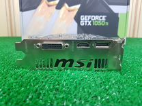 Видеокарта GeForce 1050 Ti (Msi, 4Gb)