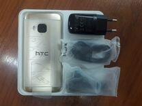 Новый HTC M9 32/3Гб золотой. Гарантия