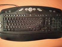 Монитор Acer V223W, клавиатура Logitech Y-BH52
